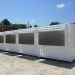 Shipping Container Fireworks Stand