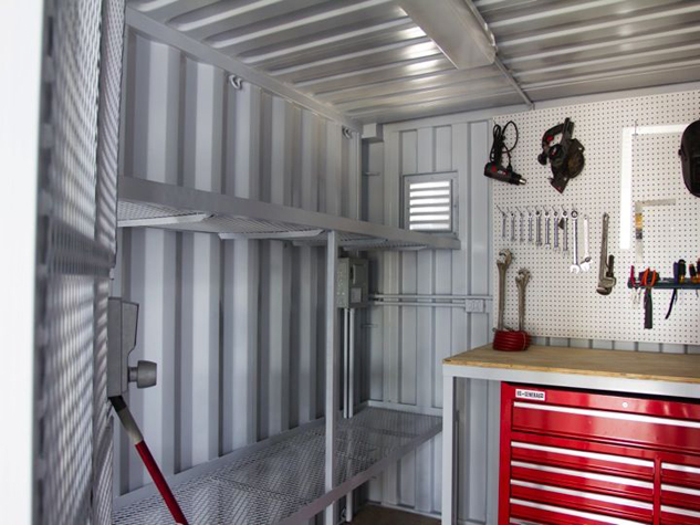 Houston Shipping Container Tool Rooms Build A Box Homes
