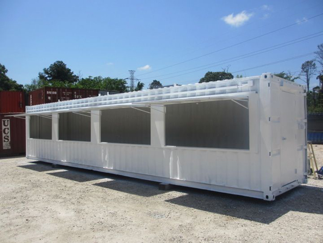 Shipping Container Fireworks Stand Build A Box Homes