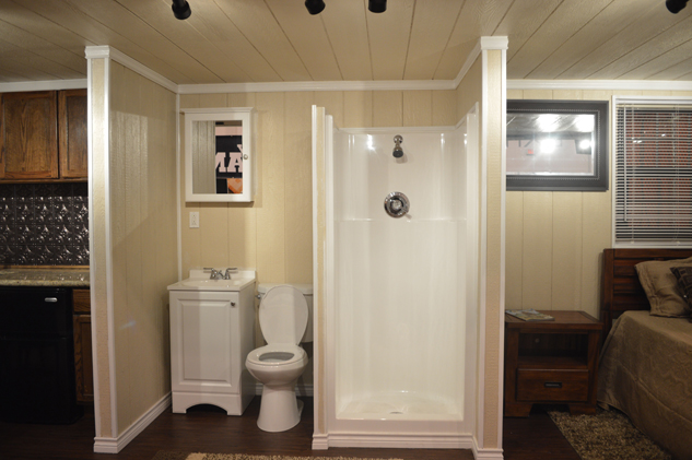 Houston shipping container bathroom build a box homes - Shipping container public bathroom ...