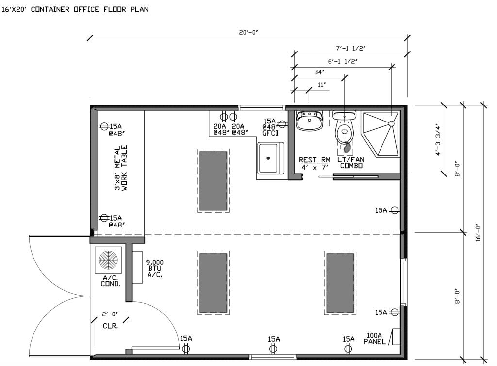 16x20 Office