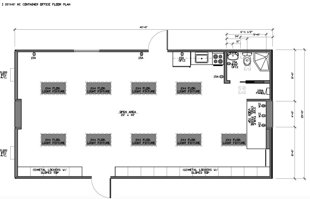 20x40 Office